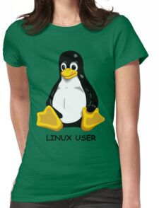 Linux User Womens Fitted T-Shirt