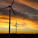 Sunrise Windfarm by Jason Bran-Cinaed