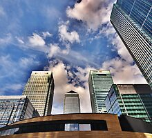 Canary Wharf, London by phase44