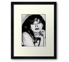 'Sketch On A4' Framed Print