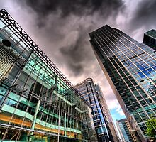 Canary Wharf, London in HDR by phase44