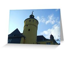 Homburg Castle Greeting Card