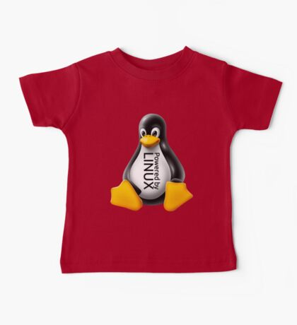 Powered by Linux Baby Tee