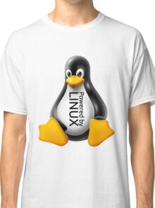 Powered by Linux Classic T-Shirt