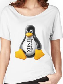 Powered by Linux Women's Relaxed Fit T-Shirt