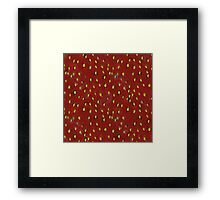 Strawberry Skin Framed Print