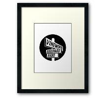 Vinewood Boulevard Radio Framed Print
