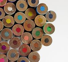 colored pencils by theflashbulb