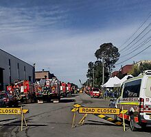 Silverwater Factory Fire August 2009 by rossco