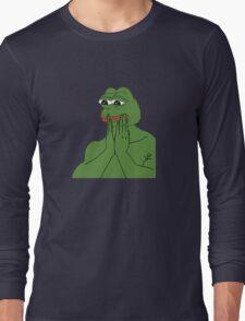 pepe da frog Long Sleeve T-Shirt