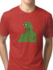 pepe da frog Tri-blend T-Shirt