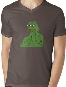 pepe da frog Mens V-Neck T-Shirt