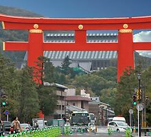 Kyoto Torii Gate by phil decocco