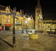 Durham City Market Place by David Lewins