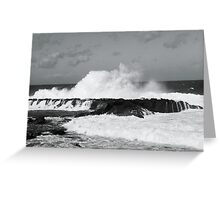 North Shore Swell Greeting Card