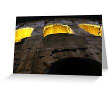 Colosseum Up Close Greeting Card