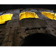 Colosseum Up Close Photographic Print