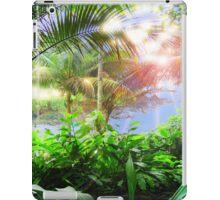 Streaming Hawaiian Sunlight Landscape iPad Case/Skin