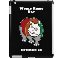World Rhino Day iPad Case/Skin