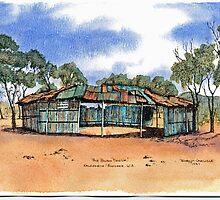 The Bush Two Up Shed,Kalgoorlie.West Australia by robynart