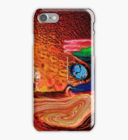 Time Passing, page 20-21 from Everything IS, a visual and philosophical theory of everything iPhone Case/Skin