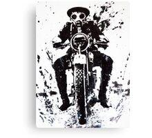 WW1 Biker Canvas Print