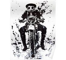 WW1 Biker Poster