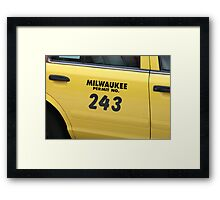 Number Two Forty-Three Framed Print
