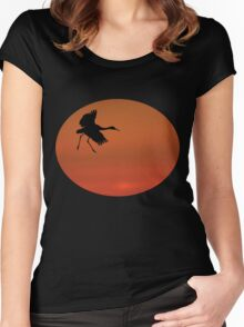 Walking on Air Women's Fitted Scoop T-Shirt