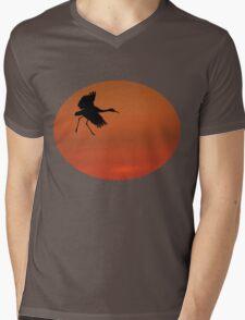Walking on Air Mens V-Neck T-Shirt