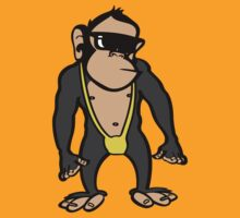 Mankini Monkey by Jem Wright