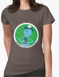 Mr. Meeseeks: Remember To Square Your Shoulders Womens Fitted T-Shirt