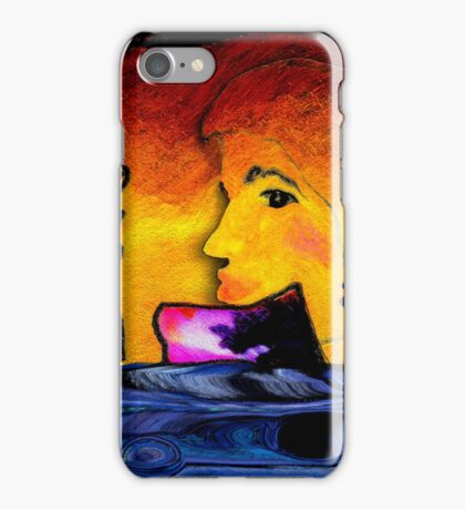 Part of the Pattern, page 16-17 from Everything IS, a visual and philosophical theory of everything iPhone Case/Skin