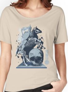 The Game of Kings, Wave Three: The White King's Knight Women's Relaxed Fit T-Shirt
