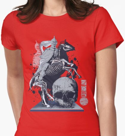 The Game of Kings, Wave Three: The White King's Knight Womens Fitted T-Shirt