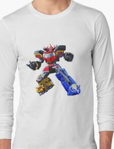Mighty Morphin Power Rangers Megazord 3 Long Sleeve T-Shirt