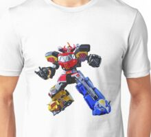 Mighty Morphin Power Rangers Megazord 3 Unisex T-Shirt