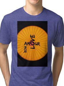 AMOUR LOVE AMOR Tri-blend T-Shirt
