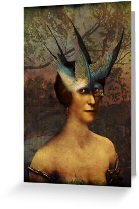 Bird Woman by Catrin Welz-Stein