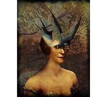 Bird Woman Photographic Print