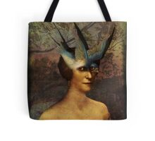 Bird Woman Tote Bag