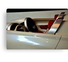 Car 4 d Future Canvas Print