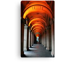 Glowing Iteration Canvas Print