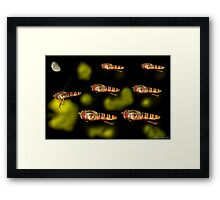 Tally-Ho Chaps, We're Going In!!! Framed Print