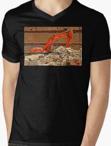 Demolition Mens V-Neck T-Shirt