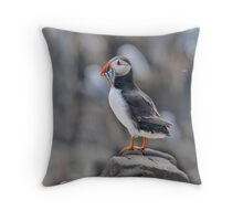 The Puffin Throw Pillow