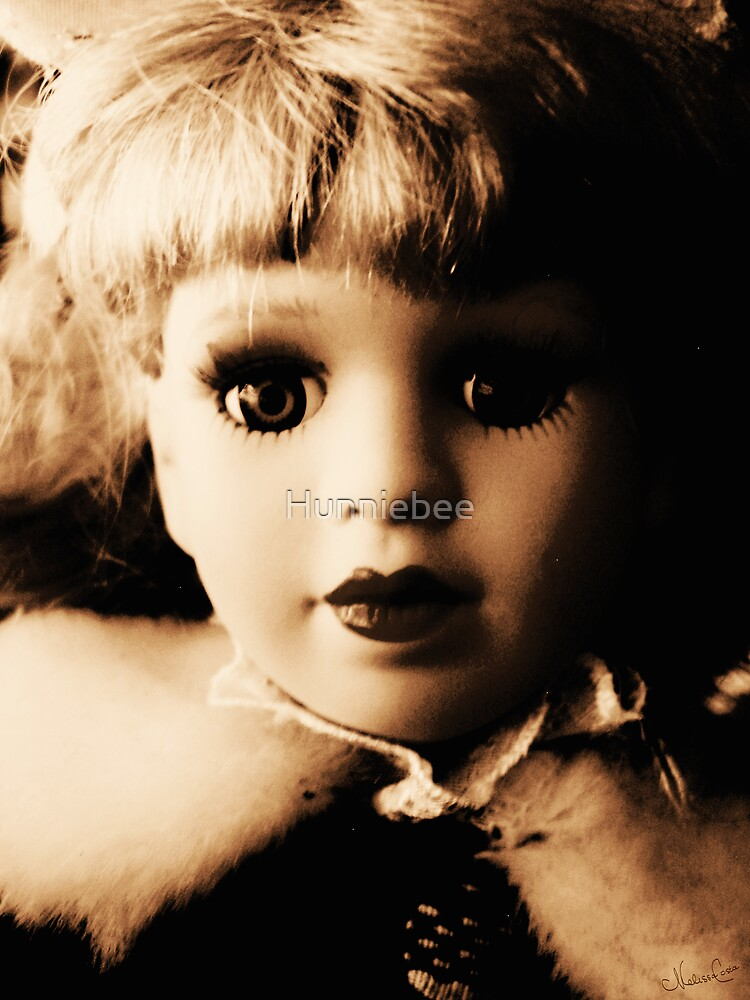 Porcelain Doll Sepia 02 by Hunniebee