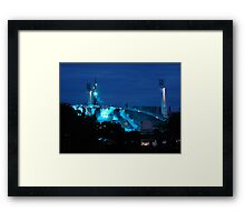 U2 Concert in the Sports Arena Framed Print
