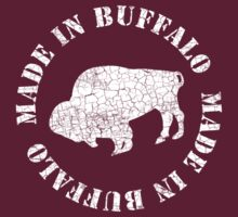 Made In Buffalo - Cracked Stamp T-Shirt