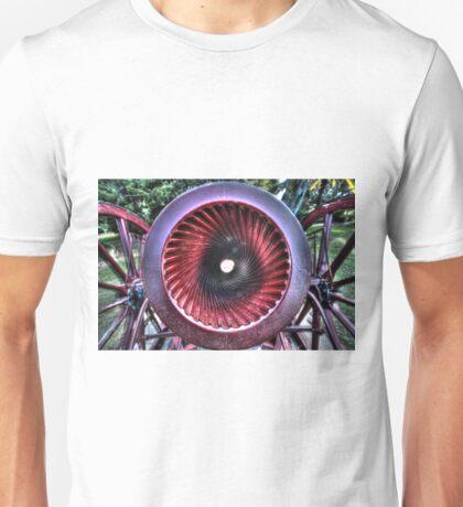 Canon meets cannon. Unisex T-Shirt